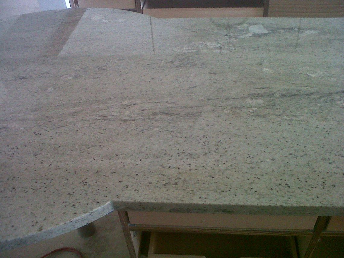Stone trade hawaii seams for Seamless quartz countertops